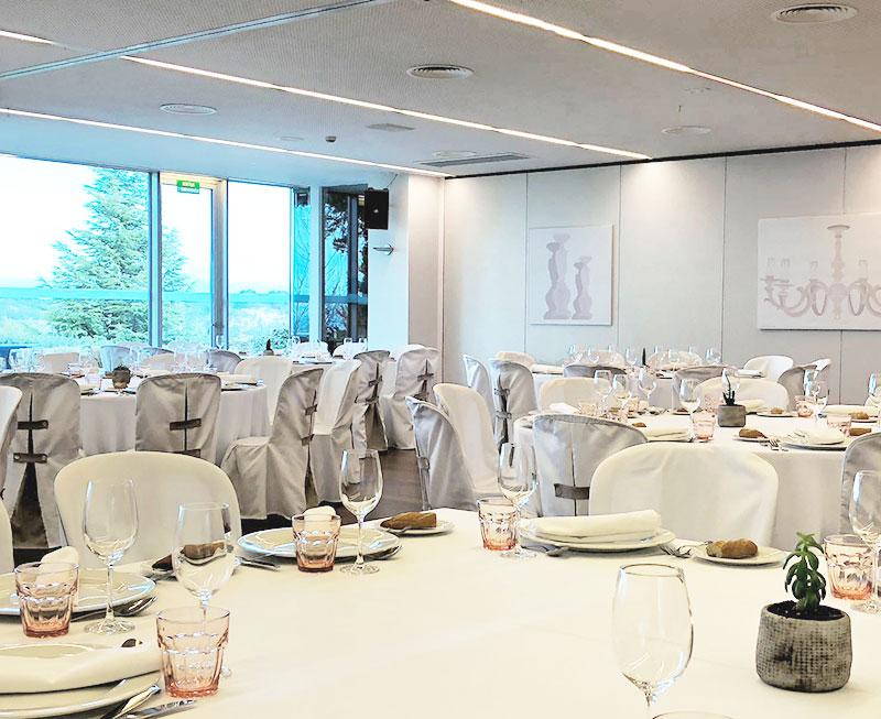 Business Meetings. Betula alba. La Tabola Restaurant.