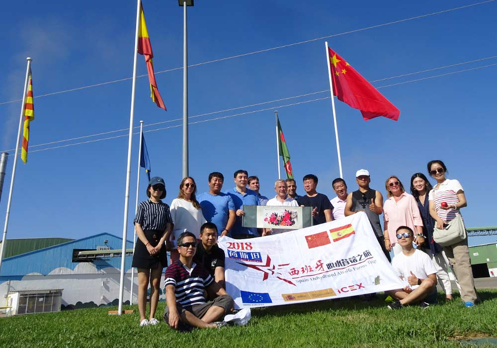 Chinese Trade Mission in Spain